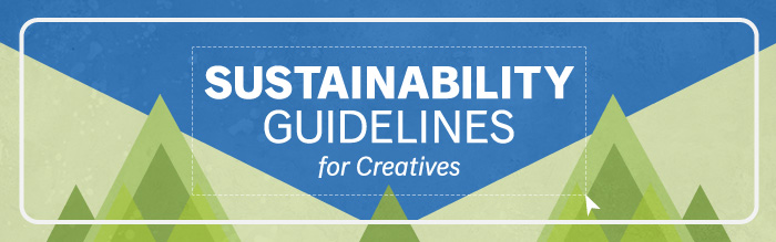 Sustainability Guidelines for Creatives