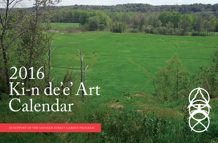 Bruce Power - 2016 Ki-n De\'e\' Art Calendar