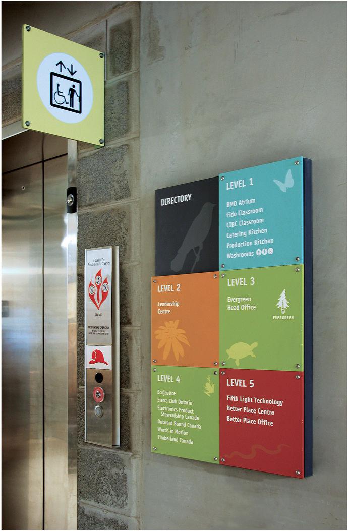signs group directories custom ada exterior interior wayfinding building signage image