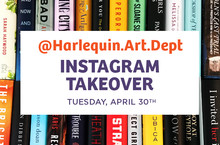 Harlequin Art Deptartment Instagram Takeover Tuesday April 30th