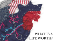 What Is a Life Worth? Poster by Sarah Butt Student RGD