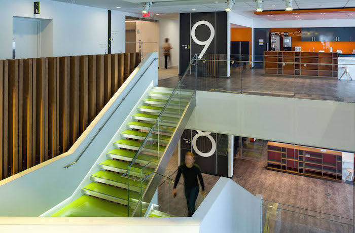 Accessible Design From Reich Petch Helps Create Unique Work Environment For Deloittes Montreal Office