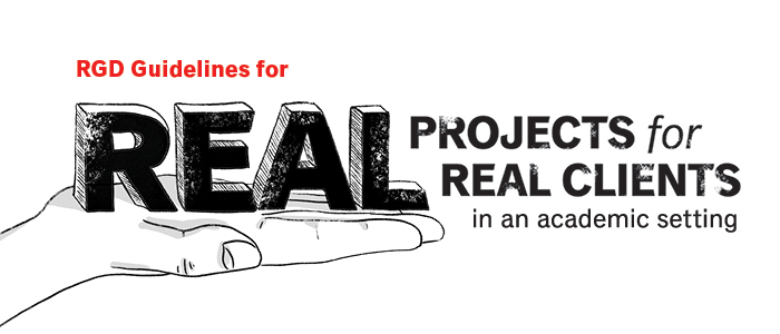 RGD Guidelines for Real Projects for Real Clients in an academic setting