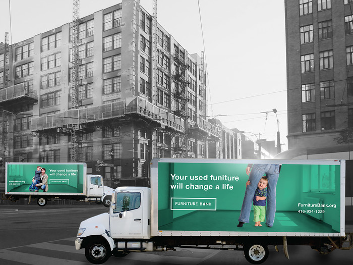 Furniture Bank Charity Increases Brand Awareness With Trucks