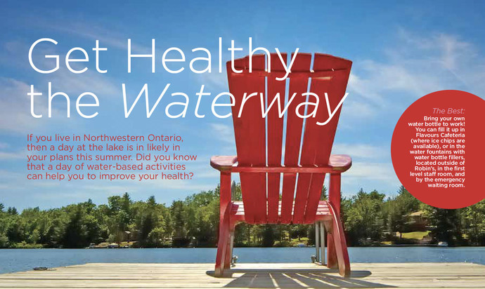 2018 Health & Wellness Calendar by Thunder Bay Regional